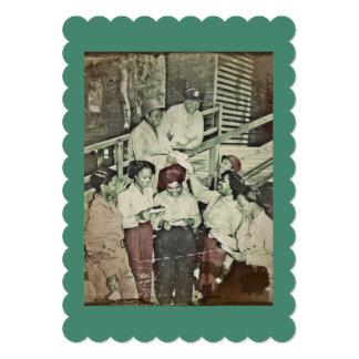 Nurses Receiving Mail Card
