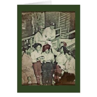 Nurses  Receiving Their First Mail Card
