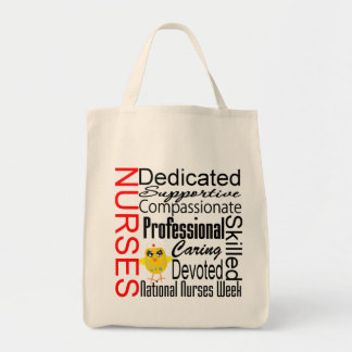 Nurses Recognition Collage:  National Nurses Week Bags
