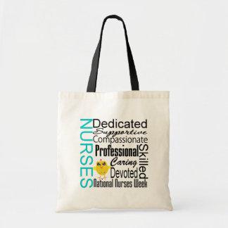 Nurses Recognition Collage - National Nurses Week Canvas Bag