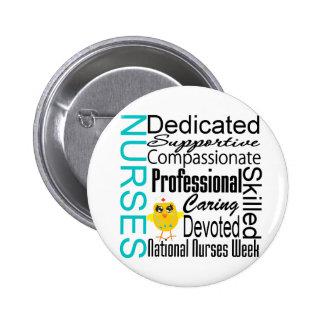Nurses Recognition Collage - National Nurses Week Pins