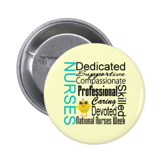 Nurses Recognition Collage - National Nurses Week Pins