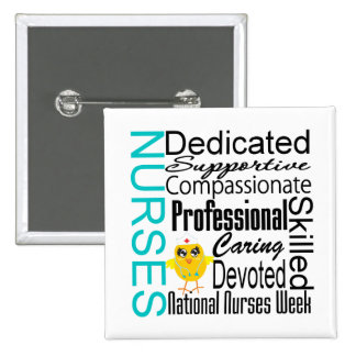 Nurses Recognition Collage - National Nurses Week Pin