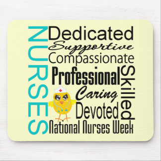 Nurses Recognition Collage - National Nurses Week Mousepads
