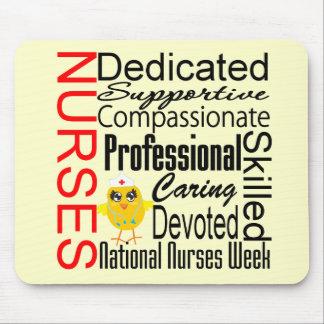 Nurses Recognition Collage National Nurses Week Mousepads