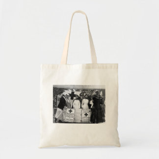 Nurses Recruiting Station World War One Tote Bags