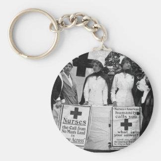 Nurses Recruiting Station World War One Key Chain