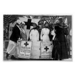 Nurses Recruiting Station World War One Poster