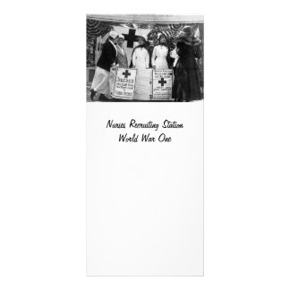Nurses Recruiting Station World War One Rack Card
