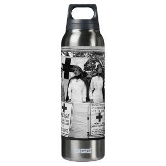 Nurses Recruiting Station World War One Thermos Water Bottle