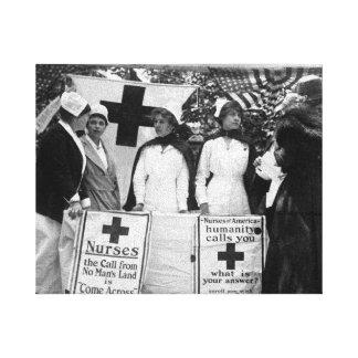 Nurses Recruitment Canvas Print
