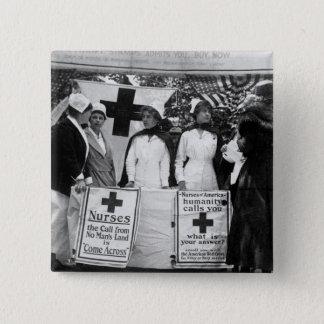 Nurses Recruitment Pinback Button