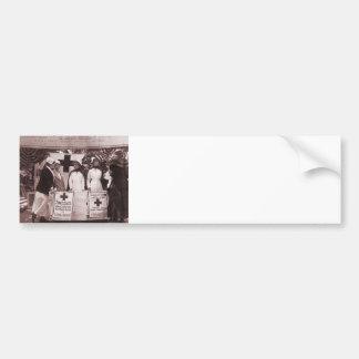 Nurses Recruitment Station WWI Bumper Sticker