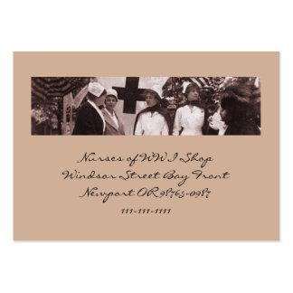 Nurses Recruitment Station WWI Large Business Card