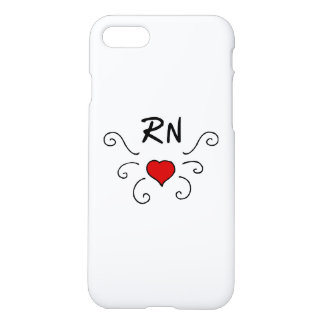 Nurses RN Love Tattoo iPhone 7 Case
