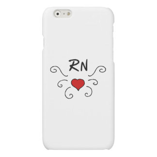 Nurses RN Love Tattoo Matte iPhone 6 Case