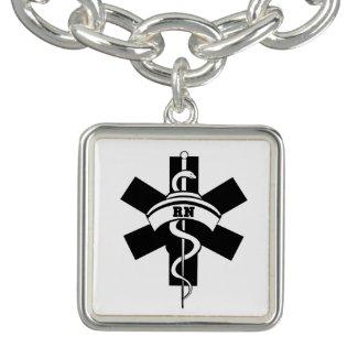 RN Nurses Charm Bracelet