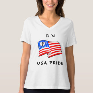 Nurses RN USA Pride T-Shirt