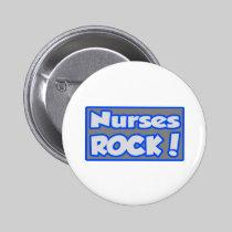 Nurses Rock! 2 Inch Round Button