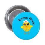 Nurses Rock 2 Inch Round Button