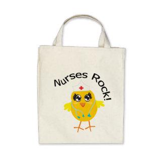 Nurses Rock Canvas Bag