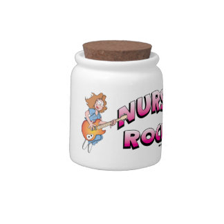 Nurses Rock Candy Jar