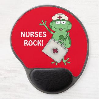 Nurses Rock cartoon gel mousepad