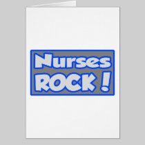 Nurses Rock! Greeting Card