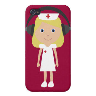 Nurses Rock Cover For iPhone 4