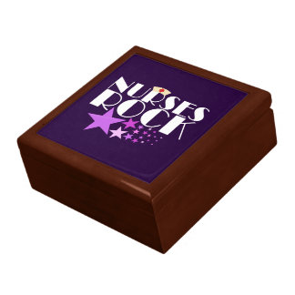 Nurses Rock Jewelry Box