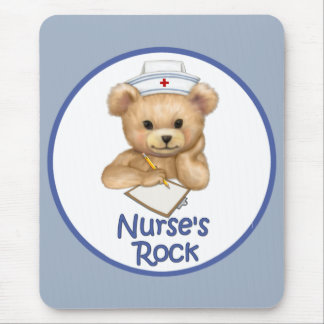 Nurse's Rock Mouse Pad