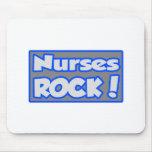 Nurses Rock! Mousepad
