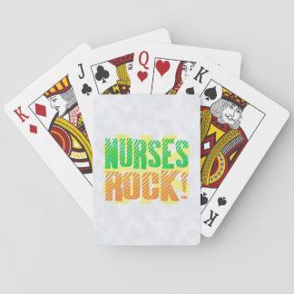 Nurses Rock, Orange/Green Fun Nurse Card Deck