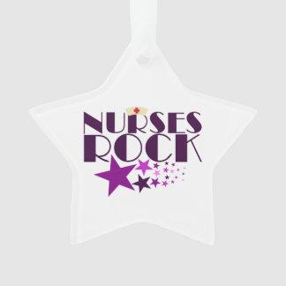 Nurses Rock Ornament