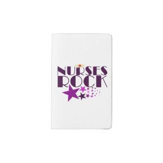 Nurses Rock Pocket Moleskine Notebook