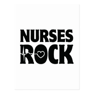 Nurses Rock Postcard
