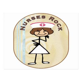 Nurses Rock Postcard