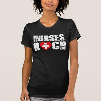 nurses rock tee shirt
