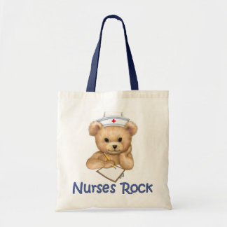 Nurses Rock Tote Bag