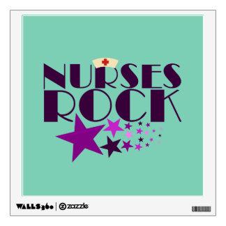 Nurses Rock Wall Sticker