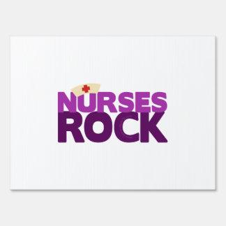 Nurses Rock Yard Sign