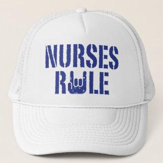 Nurses Rule Trucker Hat