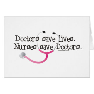Nurses save Doctors Card