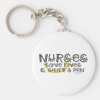 Nurses Save Lives Key Chains