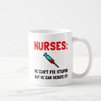 Nurses Sedated Coffee Mug