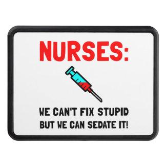 Nurses Sedated Trailer Hitch Cover
