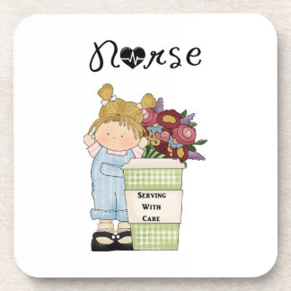 Nurses Serving With Care Coaster