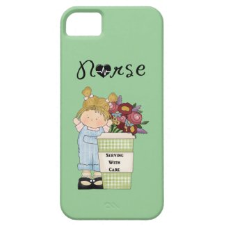 Nurses Serving With Care iPhone 5 Cases