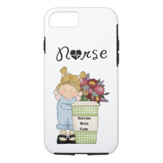 Nurses Serving With Care iPhone 7 Case