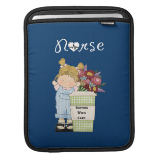Nurses Serving With Care Sleeve For iPads